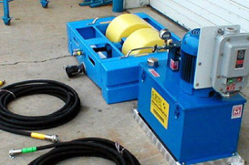 Verde - Skimmers - Electric hydraulic skimmer Systems